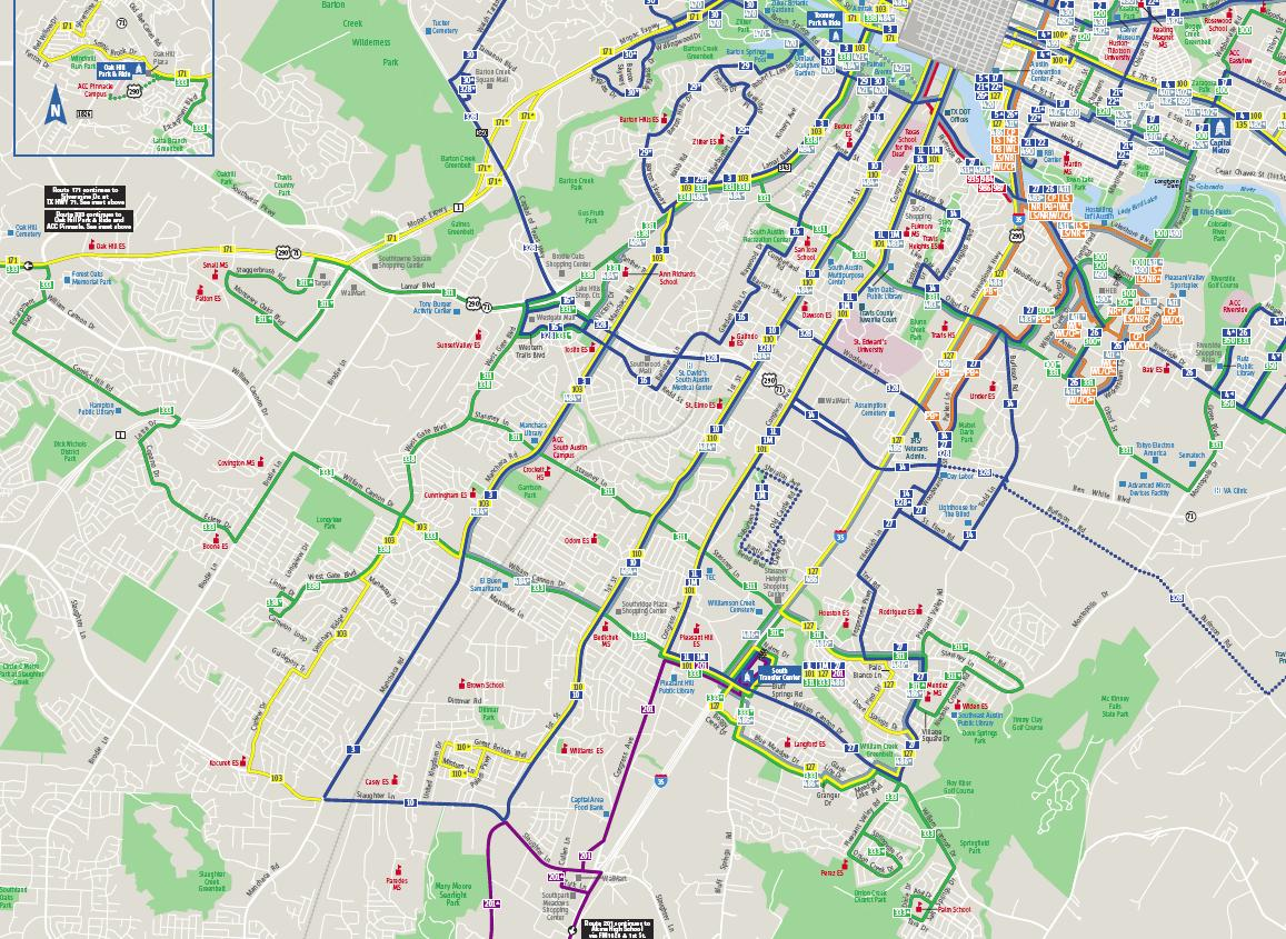 austin bus map – bnhspine